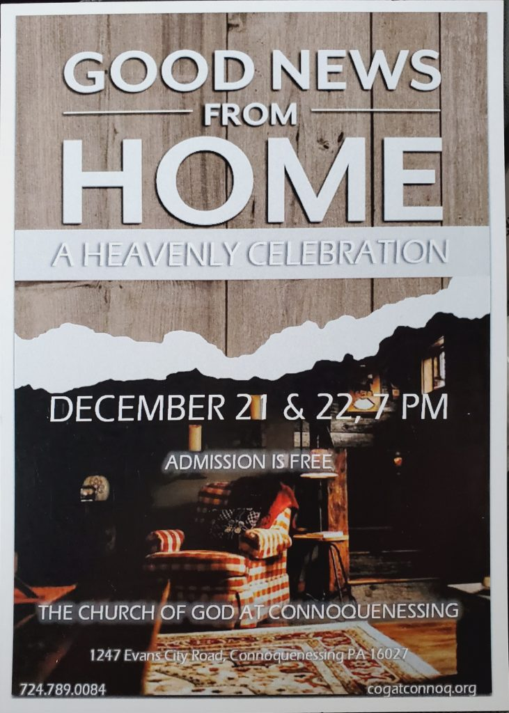 Good News From Home - A Christmas Celebration
